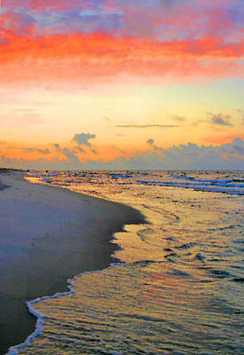 Photograph - Sunrise On The Gulf by Kristin Elmquist