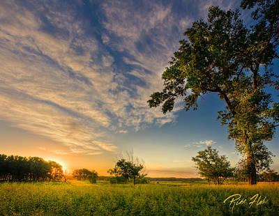 Photograph - Sunrise On The Knife River by Rikk Flohr