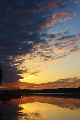 Photograph - Sunrise On The Lake by Bruce Bley
