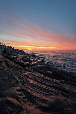 Photograph - Sunrise On The Midcoast by Jesse MacDonald