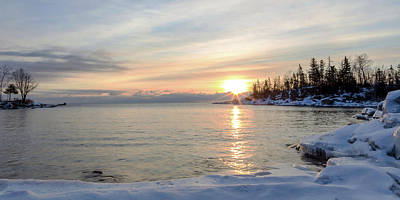 Photograph - Sunrise On The North Shore by Penny Meyers
