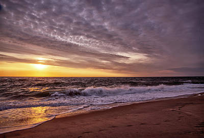 Photograph - Sunrise On The Outer Banks by Gordon Ripley