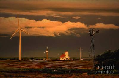 Photograph - Sunrise On The Prairie by Jon Burch Photography