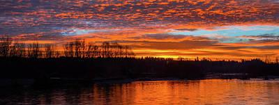 Photograph - Sunrise On The River by Jason Brooks