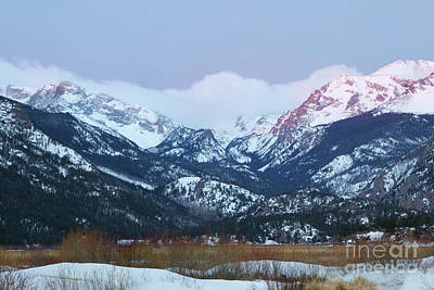 Photograph - Sunrise On The Rocky Mountains by Ronda Kimbrow