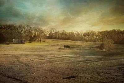 Photograph - Sunrise On The Sheep Farm by Jai Johnson