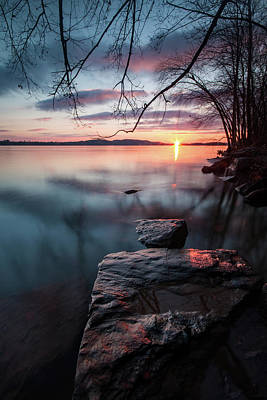 Photograph - Sunrise On The Susquehanna by Jim Cheney