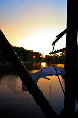 Photograph - Sunrise On The Trestle 2 by Bonfire Photography