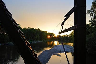 Photograph - Sunrise On The Trestle by Bonfire Photography
