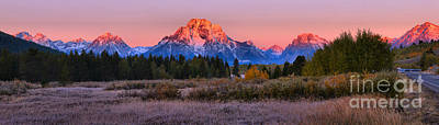 Photograph - Sunrise On The Way To Oxbow by Adam Jewell