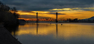 Photograph - Sunrise On The Willamette by Ken Aaron