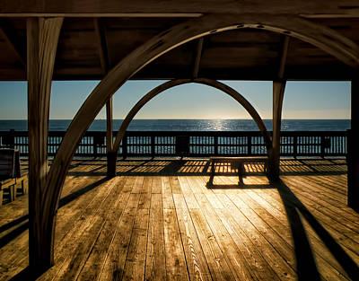 Sunrise On Tybee Island Art Print by Steven  Michael