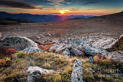 Photograph - Sunrise On Ute Trail by Steven Reed