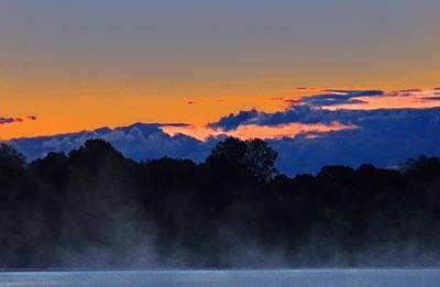 Photograph - Sunrise On Vineyard Lake by David Frankel