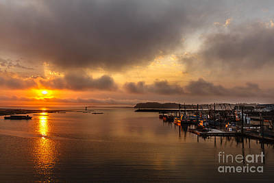 Photograph - Sunrise On Willapa Bay by Robert Bales