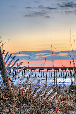 Photograph - Sunrise On Wrightsville Beach by JC Findley