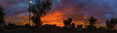 Photograph - Sunrise Over 52nd Ave by Kimo Fernandez