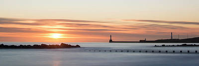 Sunrise Over Aberdeen Beach Art Print