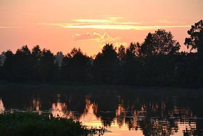 Photograph - Sunrise Over Alligator Lake 4 by rd Erickson