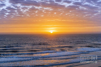 Sunrise Over Atlantic Ocean Art Print by Elena Elisseeva