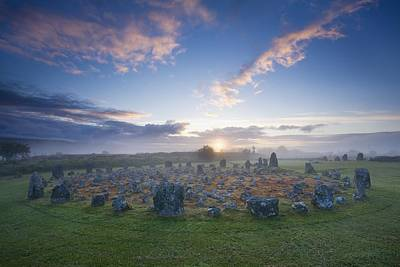 Photograph - Sunrise Over Beaghmore Stone Circles by Gareth McCormack
