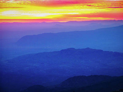Photograph - Sunrise Over Big Bend by Phil Rispin