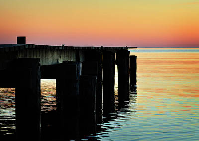 Sunrise Over Chesapeake Bay Art Print