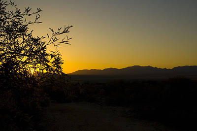 Romantic French Magazine Covers - Sunrise over Cochise by Sheri Heckenlaible