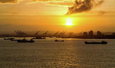 Photograph - Sunrise Over Colon by Arthur Dodd