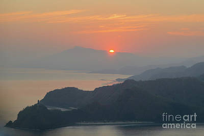 Photograph - Sunrise Over Cristo Rei by Werner Padarin