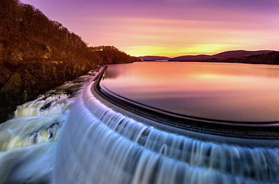 Photograph - Sunrise Over Croton Dam by Mihai Andritoiu