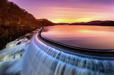 Photograph - Sunrise Over Croton Dam by Mihai Andritoiu