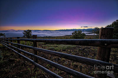 Photograph - Sunrise Over Dallas Divide by Doug Sturgess