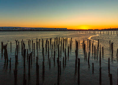 Photograph - Sunrise Over Dorchester Bay  by Brian MacLean