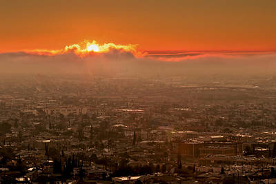 Photograph - Sunrise Over El Paso by Susan Rissi Tregoning