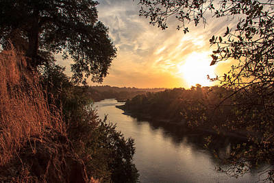 Sunrise Over Fair Oaks Print by Randy Wehner Photography