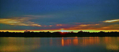 Photograph - Sunrise Over Ile-bizard - Quebec by Juergen Weiss
