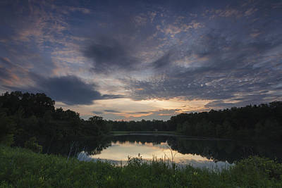 Photograph - Sunrise Over Indigo Lake by David Watkins