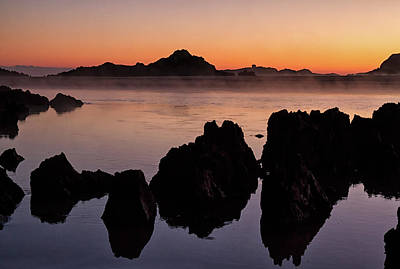 Photograph - Sunrise Over Isla Playa, Spain by Shirley Mitchell