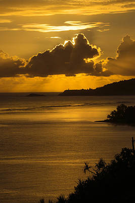 Photograph - Sunrise Over Kilauea Point In Kauai by Frank Wilson