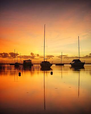 Photograph - Sunrise Over Lake Cootharaba by Keiran Lusk