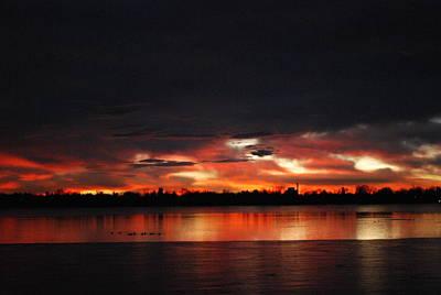 Photograph - Sunrise Over Lake Loveland by Billie Colson
