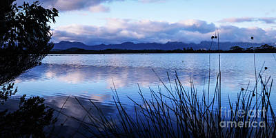 Photograph - Sunrise Over Lake Pedder by Lexa Harpell