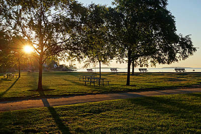Sunrise Over Lynch Park Beverly Ma Art Print by Toby McGuire