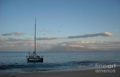 Photograph - Sunrise Over Makena by Michelle Welles