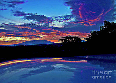 Sunrise Over Mauna Kea Art Print
