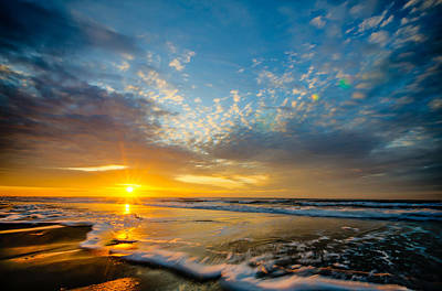 Photograph - Sunrise Over Myrtle Beach by Anthony Doudt