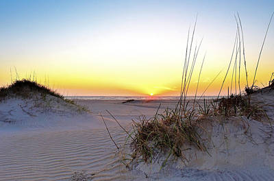 Sunrise Over Pea Island Art Print