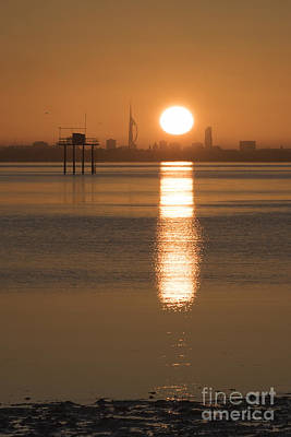 Photograph - Sunrise Over Portsmouth by Clayton Bastiani
