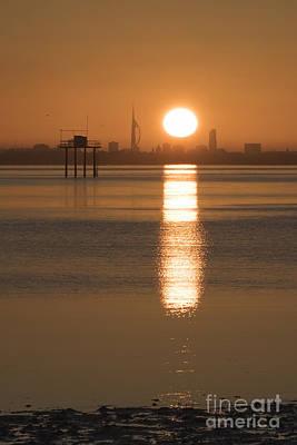Sunrise Over Portsmouth Art Print